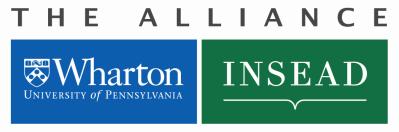 Wharton-INSEAD Exchange